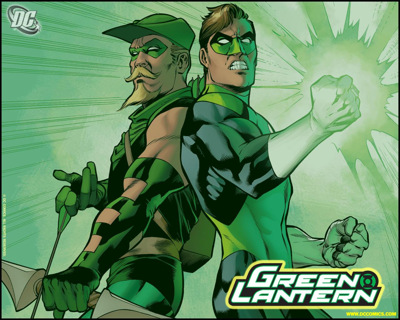 Green Lantern Comic